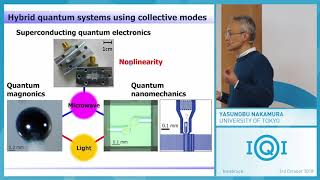Yasunobu Nakamura: Hybrid quantum systems based on collective excitations in solid thumbnail