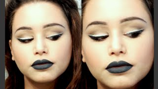 GRWM - WHITE EYELINER & GREY LIPS