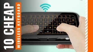Top 10: Cheapest Mini Wireless Keyboards for 2020 / Mini Wireless Keyboard with Touchpad, Backlit