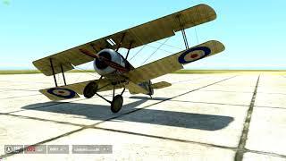 IL-2 STURMOVIK: Тест анимации шасси