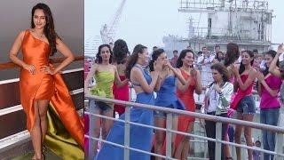 Sonakshi Sinha Fashion Show On A Cruise  Lakme Fashion Week 2017