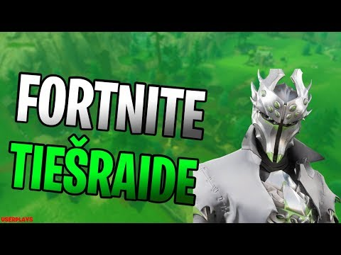 🔴 FORTNITE TIEŠRAIDE + CUSTOMS #CodeUSERPLAY🔴
