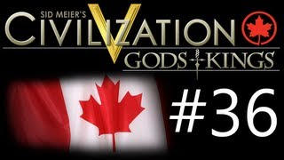 "Civilization 5: Gods & Kings - Canada ep. 36 ""The Siege of Corinth"""