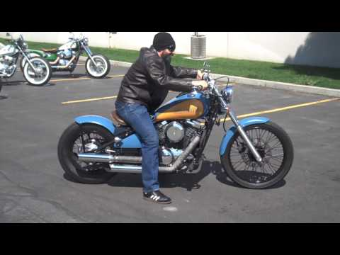 Kawasaki Vulcan 800 Bobber Ride HD - YouTube