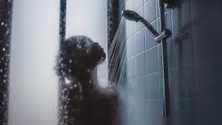 Relaxing Shower Sound BLACK SCREEN 12 Hours Bathroom Showering Ambient Noise For Relaxation & Sleep