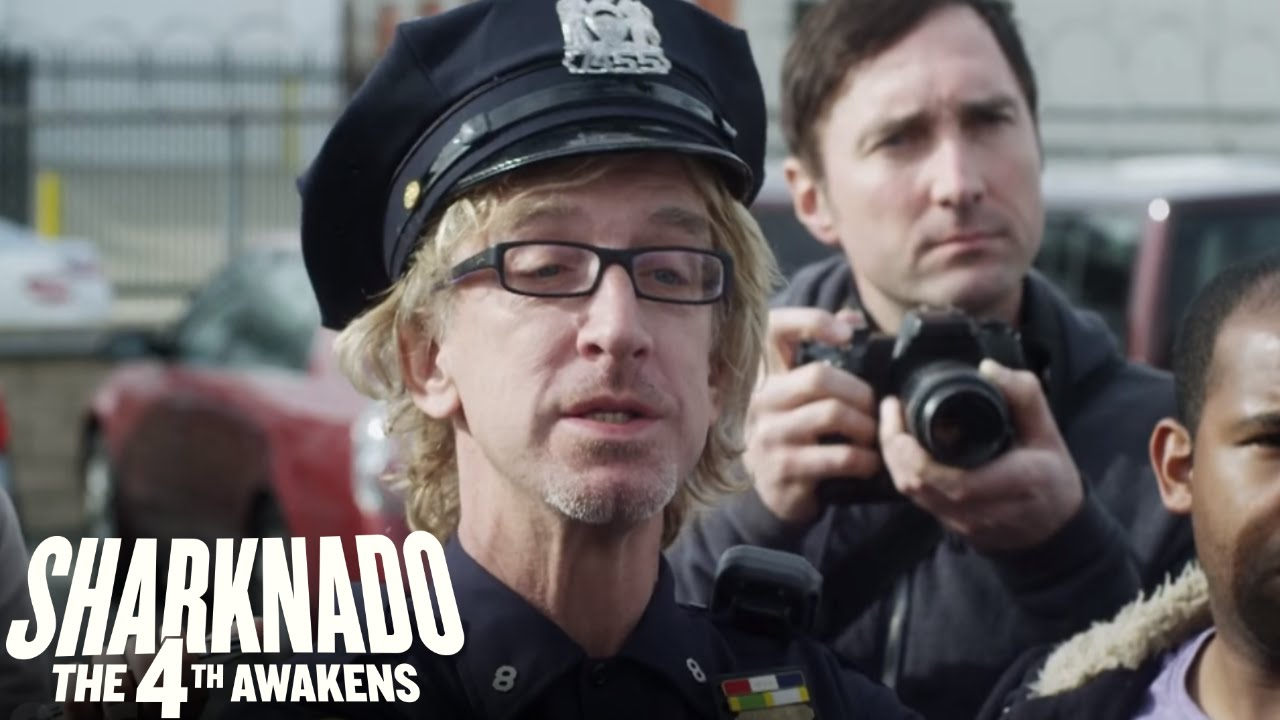 Download SHARKNADO THE 4TH AWAKENS: Every Cameo From Parts 1-3 | SYFY