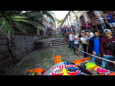 GoPro: Enduro MX Racing the Back Alleys of Portugal with Jonny Walker - Extreme XL Lagares - Ржачные видео приколы