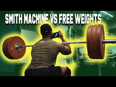 Should You Use A Smith Machine? | I Played Super Smash Bros While Front Squating
