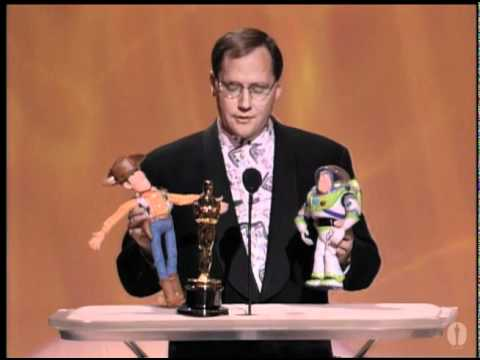 John Lasseter receiving a Special Achievement Award