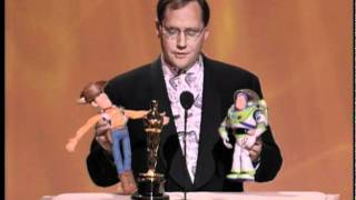 John Lasseter receiving a Special Achievement Award