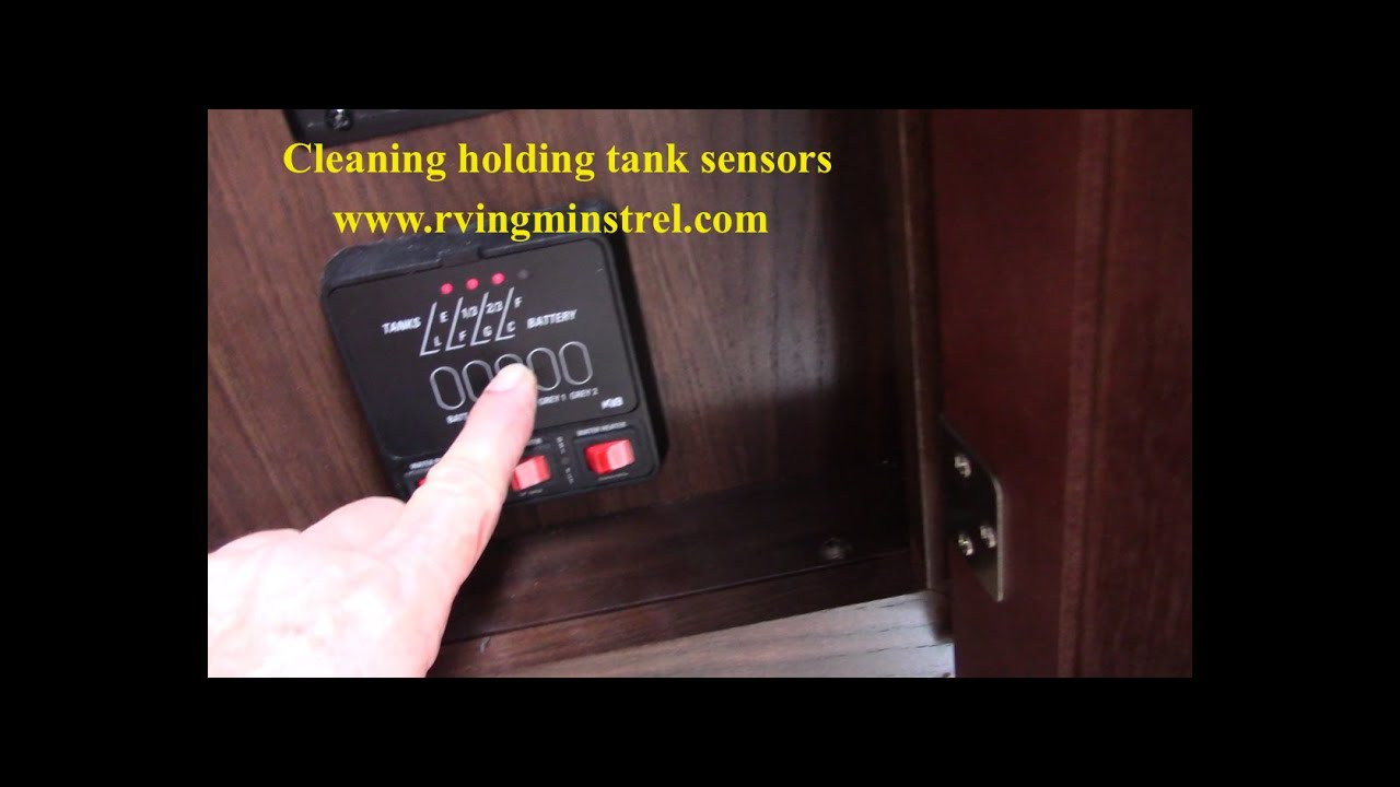 rv fresh water tank sensor wiring diagram blank digestive system to label how clean holding sensors youtube