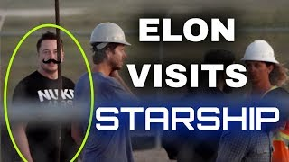 Elon Musk Prepares For His Starship Presentation | SpaceX in the News