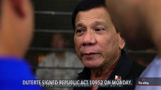 Duterte postpones barangay, SK polls to May 2018
