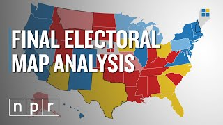 Npr's final electoral college map analysis shows democrat joe biden with a clear edge heading into the days of election, while president trump stil...