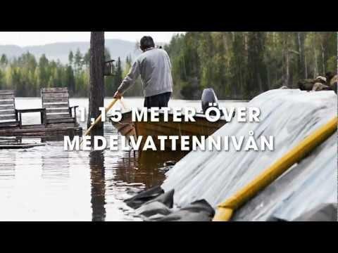 Översvämning i Mälaren - Scenario 1