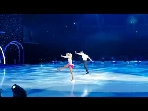 Dancing on ice Glasgow 2018