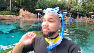 My First Time At Discovery Cove! | The Best Experience In Orlando!