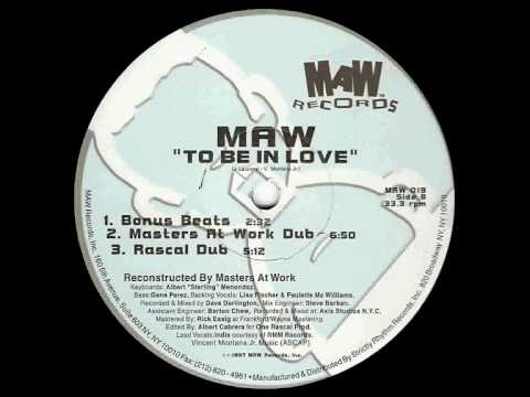 MAW feat. India - To Be In Love (Rascal Dub)
