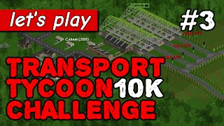 How to build the worst possible railway | Transport Tycoon 10K Challenge part 3 (OpenTTD)