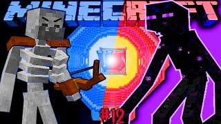 MUTANT SKELETON VS MUTANT ENDERMAN Битва мобов в Minecraft Mob Battle