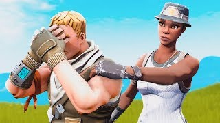 I meet the sweetest NO SKIN as RECON EXPERT in Fortnite and he WEINT.. (emotional)