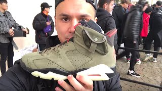 Влог #37 Топовый раффл в SneakerHead || Air Jordan 6 x Travis Scott лучшая пара 2019?