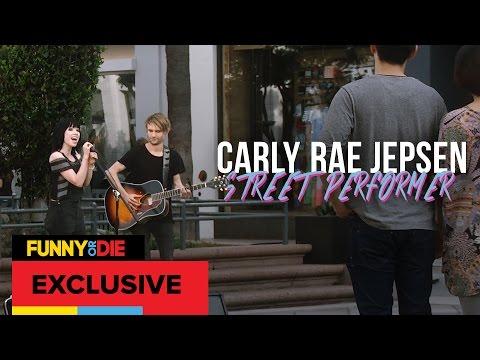 Carly Rae Jepsen: Street Performer