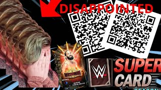 WWE SUPERCARD | SCANING MORE *QR CODES* & *WM35* PULL!