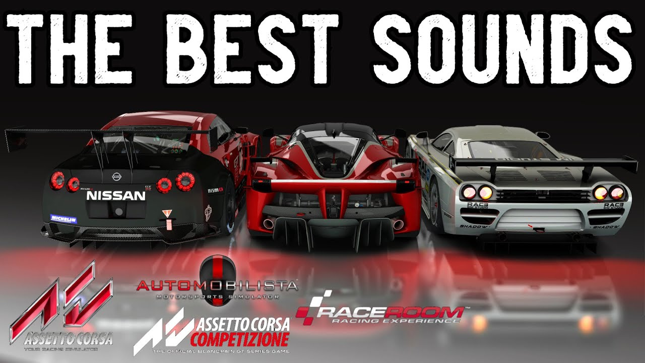 Video: The best sounding cars in sim racing