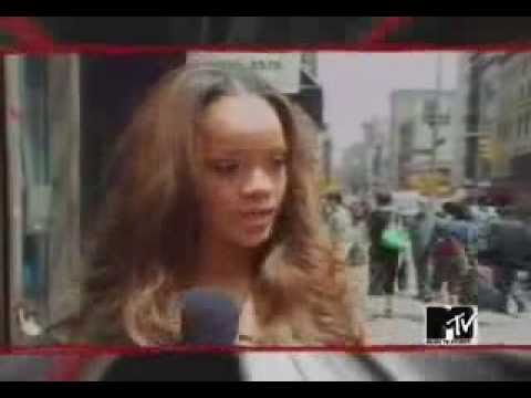 Rihanna Music of the sun promo and interview