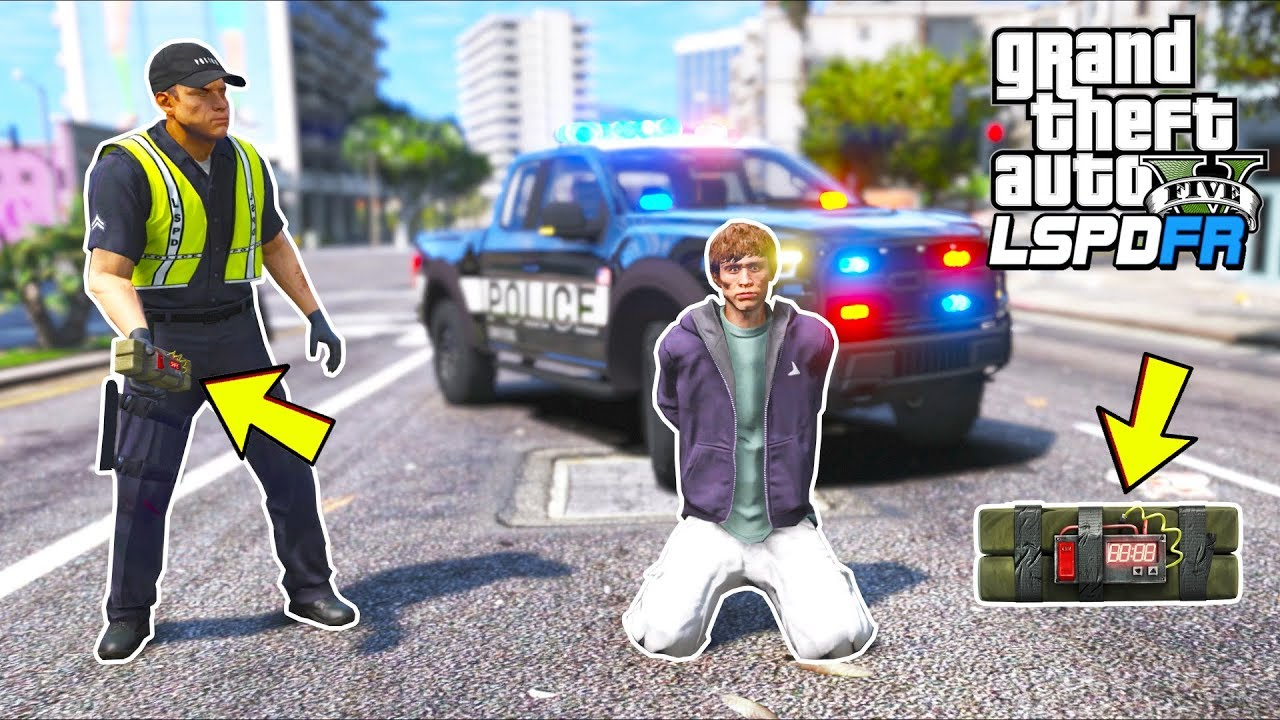 This cop likes to break laws!! (GTA 5 Mods - LSPDFR Gameplay)