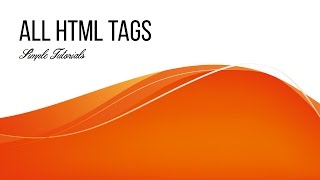 All HTML Tags in One Video