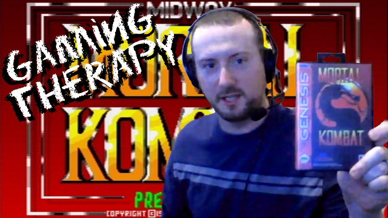 Gaming Therapy - Episode 1: Mortal Kombat (Sega Genesis)