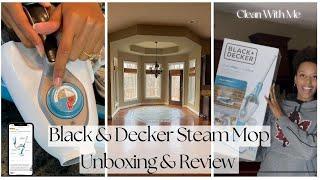 BLACK & DECKER STEAMER Mop…