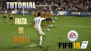 FIFA 18 - FALTA DE TRIVELA PERFEITA (TUTORIAL)