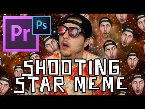 how to create a shooting star meme