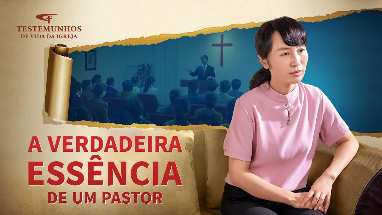 """Testemunho de fé """"A verdadeira essência de um pastor"""""""