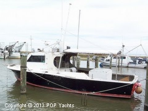 Sold used 1969 bertram 38 commercial fishing boat in new for Commercial fishing florida