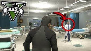 ¿Qué pasa si entras al hospital en GTA 5? - Grand Theft Auto V