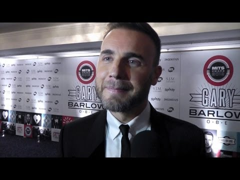 Gary Barlow honoured with the 2012 Music Industry Trusts Award (05/11/2012)