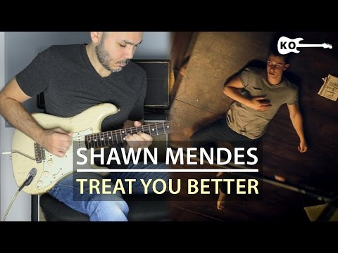 Shawn Mendes - Treat You Better - Electric Guitar...