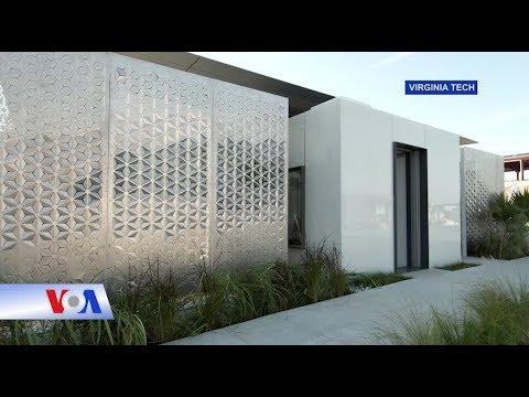 Ngôi nhà tương lai sớm thành hiện thực (VOA)