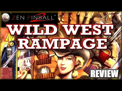 Wild West Rampage - Zen Pinball 2 - PS3 - with Commentary !!