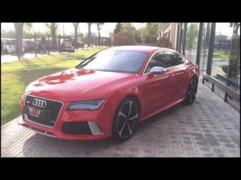 Audi A7 Sportback Rs7 4 0 Tfsi Quattro Tiptronic Youtube