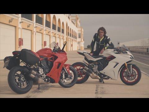 Ducati SuperSport & SuperSport S 2017 - motortest MotoMe