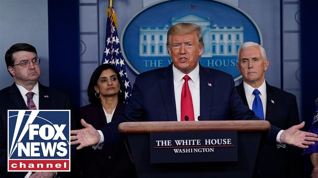 Trump, Coronavirus Task Force hold White House press briefing