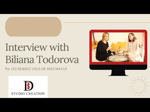 INTERVIEW ELEVE DE L'ACADEMIE DES CREATEURS BILIANA TODOROVA