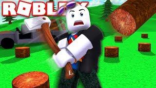ROBLOX [PL] odc.6- Lumber Tycoon ! /w Manoyek