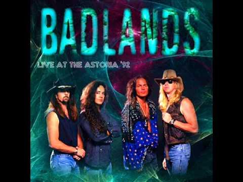 badlands  high wire  live 1992