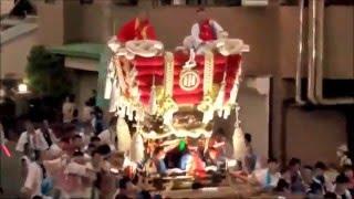 高崎神社(大阪・住之江区南加賀屋) 布団太鼓